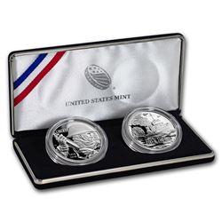 2018 World War I Centennial Silver Dollar Navy Medal Set