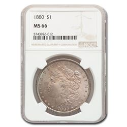 1880 Morgan Dollar MS-66 NGC
