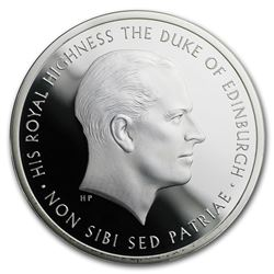 2017 GB £5 Proof Silver Prince Philip: Life of Service Piedfort