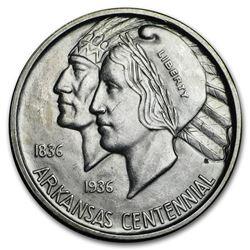 1936-D Arkansas Centennial Half Dollar Commemorative BU