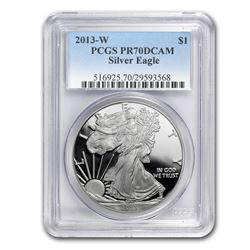 2013-W Proof Silver American Eagle PR-70 PCGS