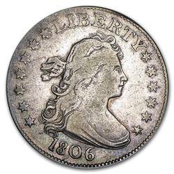 1806 Draped Bust Quarter Fine