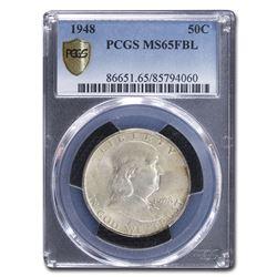1948 Franklin Half Dollar MS-65 PCGS (FBL)