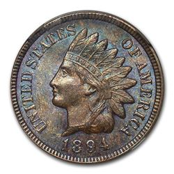 1894 Indian Head Cent MS-64 NGC (Brown)