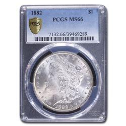 1882 Morgan Dollar MS-66 PCGS