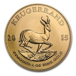 2015 South Africa 1 oz Gold Krugerrand