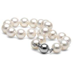 White Freshwater Pearl Bracelet, 8.5-9.0mm