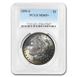 1890-S Morgan Dollar MS-65+ PCGS