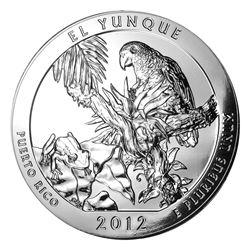 2012 5 oz Silver ATB El Yunque National Park, Puerto Rico