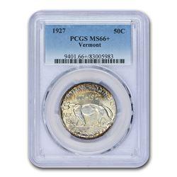1927 Vermont Sesquicentennial Half Dollar MS-66+ PCGS