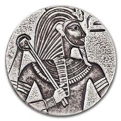 2016 Republic of Chad 5 oz Silver King Tut