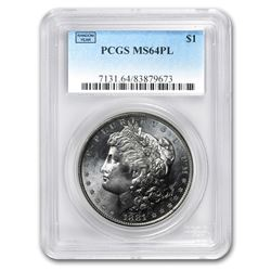 1878-1904 Morgan Dollars MS-64 PL PCGS