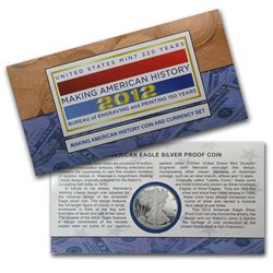 2012 2-Pc Making History Coin & Currency Set