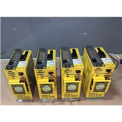 (4) - FANUC A06B-6132-H002 Bi SV20 SERVO DRIVES