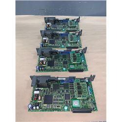 (4) - FANUC A16B-3200-0450/07G CIRCUIT BOARDS