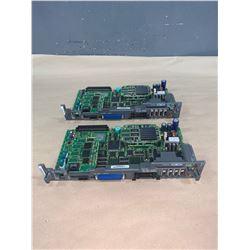 (2) - FANUC A16B-3200-0450/06F CIRCUIT BOARDS