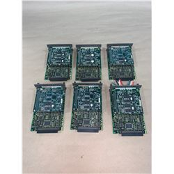 (6) - FANUC A20B-8001-0830/02B CIRCUIT BOARDS