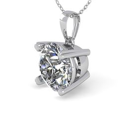 1 ctw VS/SI Diamond Designer Necklace 14k White Gold - REF-223X6A
