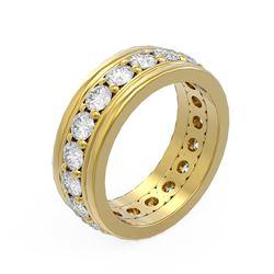 2.75 ctw Diamond Ladie's Ring 18K Yellow Gold - REF-279A5N