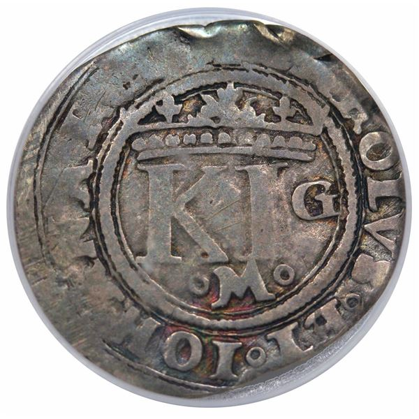 (1516-55) Mexico Mo-G Real, Carlos & Johanna, Calico 173, PCGS VF30