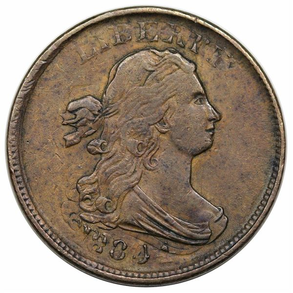 1804  C-13  R1  VF30.  Double Struck