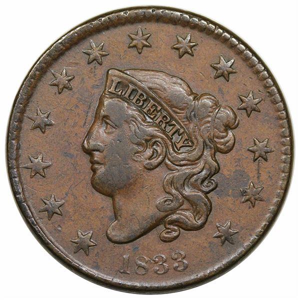 1833  N-6  R1  VF20