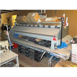 F.K. Arna Automatic Fabric Layer with 32-Foot Cutting Table