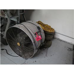 Extreme Air Fan with Ducting