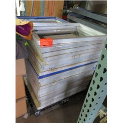 Screen-Printing Frame, Approx. 50 Qty (Frame Only, No Screen)