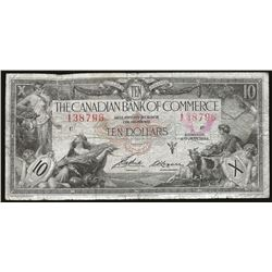 Canadian Bank of Commerce 1935 $10 F