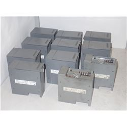 Lot of #1746-P1 & 1746-P2 Power Supplies