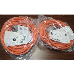 Lot of (2) #2090-CPBM7DF-16AA15 Cables