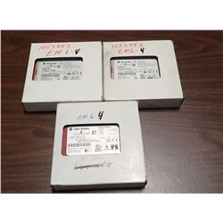 Lot of (3) #440R-D22R2 Safety Relays