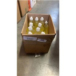 BOX OF LEMON SCENT HAND AND DISH SOAP