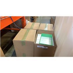 4 cases of shipping boxes