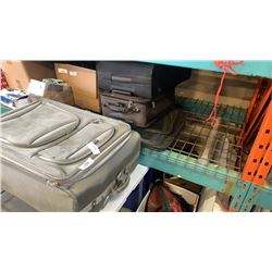 LOT OF LUGGAGE BAGS
