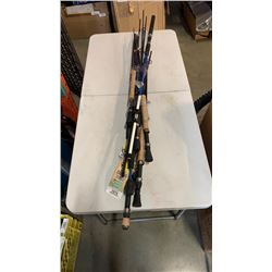 Lot of Store return fishing rods