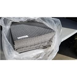 100 new absorbant spill pads