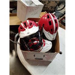 4 field lacrosse helmets