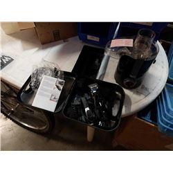 Wahl trimmer kit and Omega Juicer