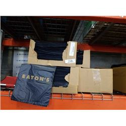 Five boxes of the eatons branded plastic bags