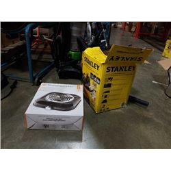 Stanley 1 gallon Shop-Vac and Toastmaster element both working
