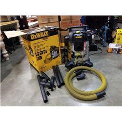 As new Dewalt stainless wet-dry vacuum 10 gallon DXV10SA