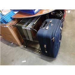 File organizer and suitcase