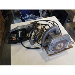 CRAFTSMAN CIRCULAR SAW, SAWZALL AND THOR ELECTRIC DRILL