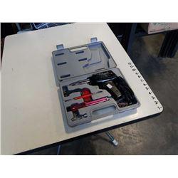 Electric soldering gun in case