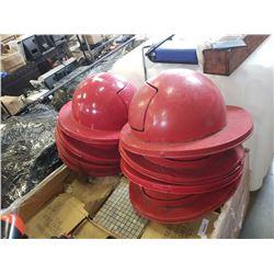 8 Industrial Garbage Pail metal lids