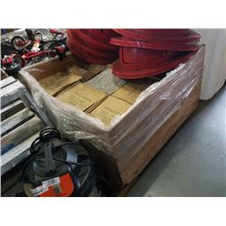 PALLET OF DESERT SAND MOSAIC TILE - APPROX 1 FOOT SQUARE