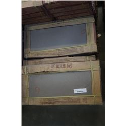 9 BOXES OF EASIDOOM BROWN TILE 300 X 600 MM 6 PER BOX