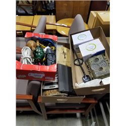 3 boxes of vintage collectible, IP cameras and more